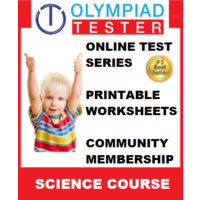 Class 1 Science Olympiad Course with Printable worksheets & Online test series