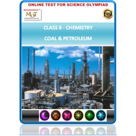 Class 8, Coal & Petroleum, Science Olympiad online test,