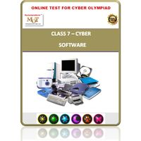 Class 7, Software, Online test for Cyber Olympiad