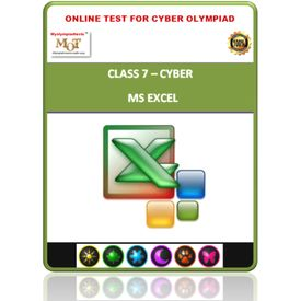 Class 7, MS Excel, Online test for Cyber Olympiad