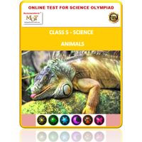 Class 5, Animals, Online test for Science Olympiad