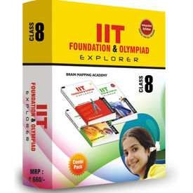 Class 8- IIT foundation, Combipack (Set of 4 books)