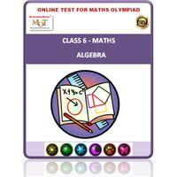 Class 6, Algebra, Online test for Math Olympiad