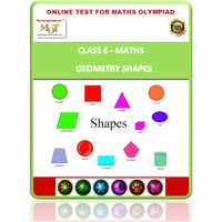 Class 6, Geometry shapes, Online test for Math Olympiad
