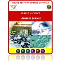 Class 5, General Science, Online test for Science Olympiad
