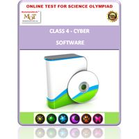 Class 4, Software, Online test for Cyber Olympiad