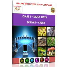 Class 5, Online Mock tests, Science+ Cyber