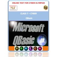 Class 7, Programming Qbasic, Online test for Cyber Olympiad