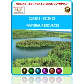 Class 5 Science worksheets- Natural resources