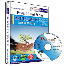 Class 9- NSTSE Olympiad preparation- Powerful test series (CD)
