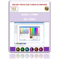 Class 2, Introduction to MS Paint, Online test for Cyber Olympiad
