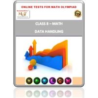 Class 8, Data Handling, Online test for Math Olympiad