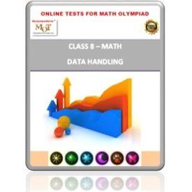 Class 8, Data Handling, Online test for Math Olympiad