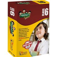 Class 6- Perfect genius for Olympiads, Science, Maths, Social, logic, 2nd Edition (box set) & Subscription to GLOWSOT and GLOWMOT