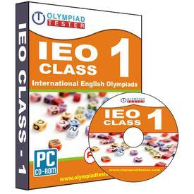 Class 1- IEO Olympiad preparation test series (CD)