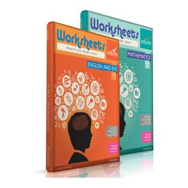 Class 4 Maths, English And EVS Worksheets
