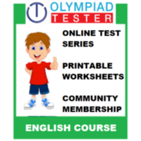 Class 3 English Olympiad Course- (Online test series+ Printable worksheets+ Community Membership)