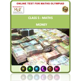 Class 5, Money, Online test for Math Olympiad