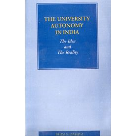 The University Autonomy in India: the Idea and the reality