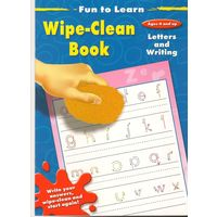 Fr Wipe Clean Book (Asst)