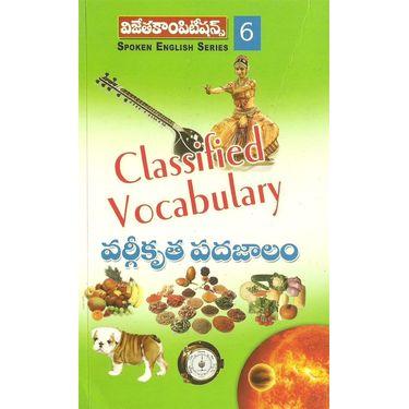 Classified Vocubulary
