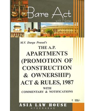The AP Apartments Act & Rules, 1987