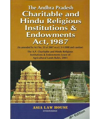The AP Charitable and Hindu Religious Institutions & Endowments Act, 1987 (English)