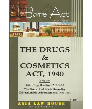 The Drugs & Cosmetics Act, 1940