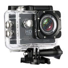 Surya Sport Camera 1080P Full HD Waterproof Underwater Action Camera Davola WiFi Control with 170° Wide-Angle Lens 12MP 1 Rechargeable Batteries and Mounting Accessories Kit