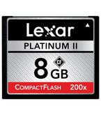Lexar Platinum II 8gb CompactFlash (CF) Card