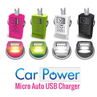 BUY 1 GET 1 FREE - CAR POWER Micro Auto USB Charger In Car 1AMP USB Charger