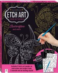 Kaleidoscope Creations Etch Art Butterflies And More, na
