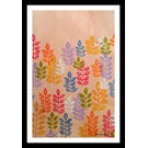 ABSTRACT PAINTING - LEAFY LINES by THE NEWLIFE SHOP