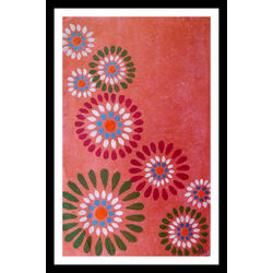 ABSTRACT PAINTING - ADDITIVE PETALS by THE NEWLIFE SHOP