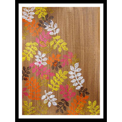 ABSTRACT PAINTING - BACKSTITCHED by THE NEWLIFE SHOP