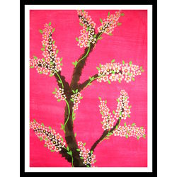 ABSTRACT PAINTING - SPRING BLOSSOM by THE NEWLIFE SHOP