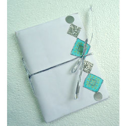 NOTEBOOK - DIAMOND WHITE by THE NEWLIFE SHOP