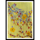 ABSTRACT PAINTING - GRAPE FALL by THE NEWLIFE SHOP