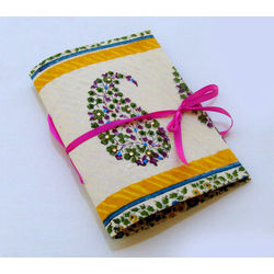 NOTEBOOK - EMBELLISHED PAISLEY by THE NEWLIFE SHOP