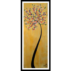 ABSTRACT PAINTING - WISHFUL by THE NEWLIFE SHOP