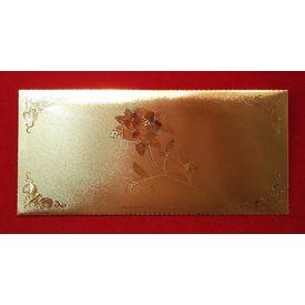 24K Gold Plated Envelope-GP001