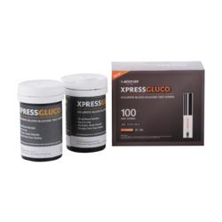 XpressGluco Diabetes Test Strips 100 pack