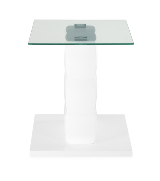 Brick Side Table - @home by Nilkamal, White