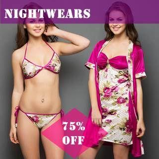 Women nightwear and sleepwear