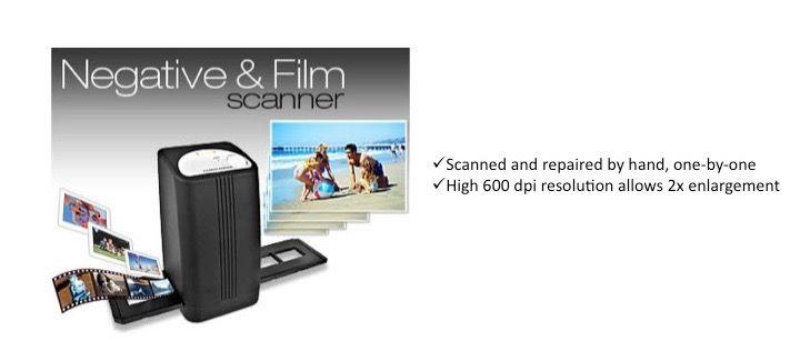 Negative and Film Scanner