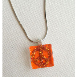 ART PENDANT - PEACE IN A PIECE by THE NEWLIFE SHOP
