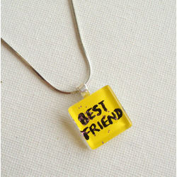 ART PENDANT - FRIENDS FOREVER 1 by THE NEWLIFE SHOP