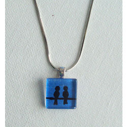 ART PENDANT - CHIRPING TOGETHER by THE NEWLIFE SHOP
