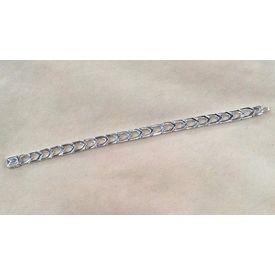 Dazzle High Finish Silver Bracelet- BR007