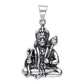 Panchmukhi Hanuman Silver Pendant-PD016
